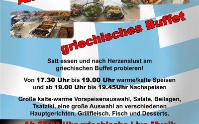 Lecker Essen im Sporheim…
